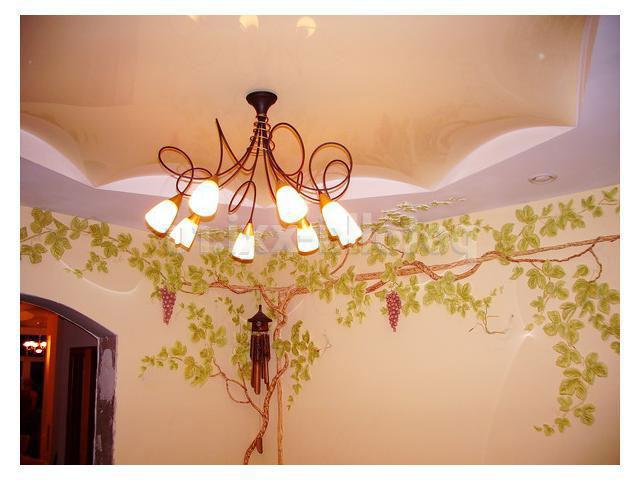 Почему лучше натяжной потолок?