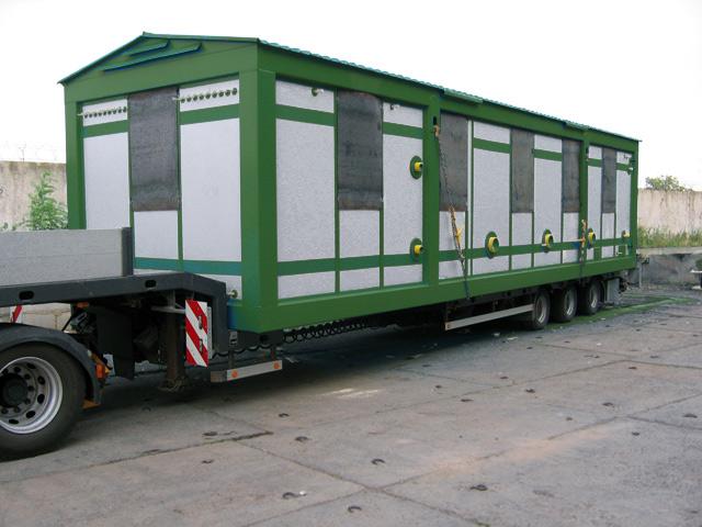 Надёжная перевозки негабаритных грузов