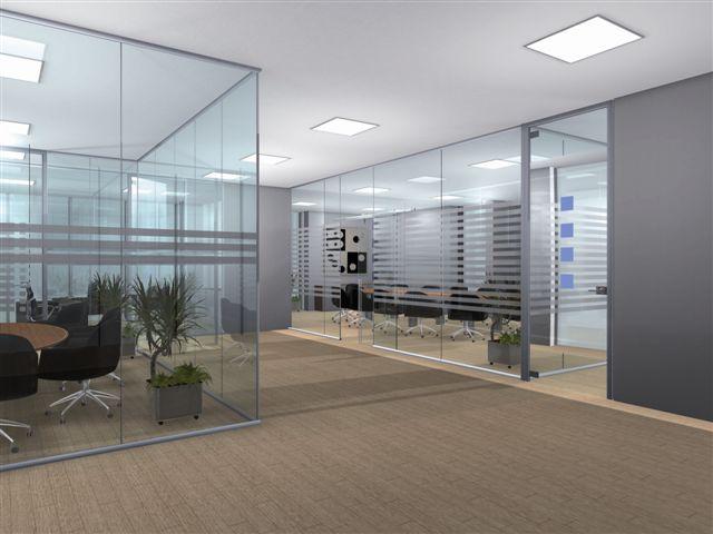 Виды перегородок для современного офиса