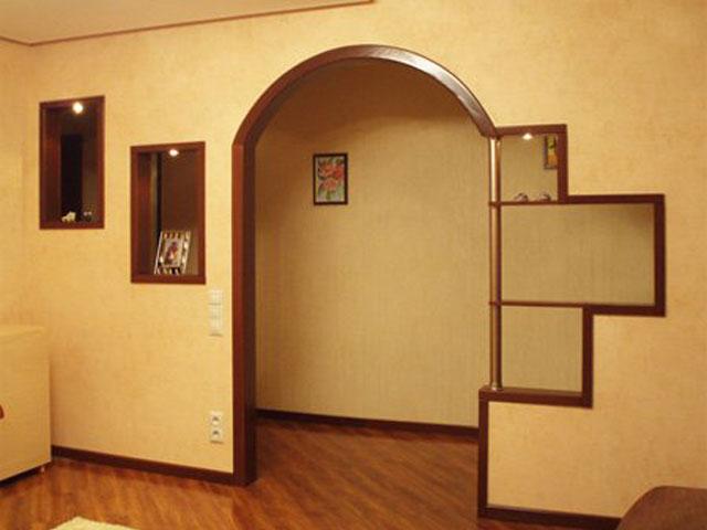 Межкомнатные современные арки из МДФ