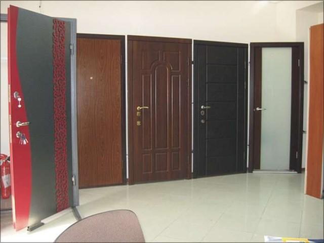 Немного о видах строительных дверей
