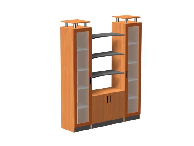 Особенности офисной мебели шкафы
