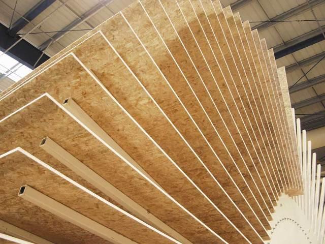 Современные осб плиты - новое слово в отделке зданий и сооружений.