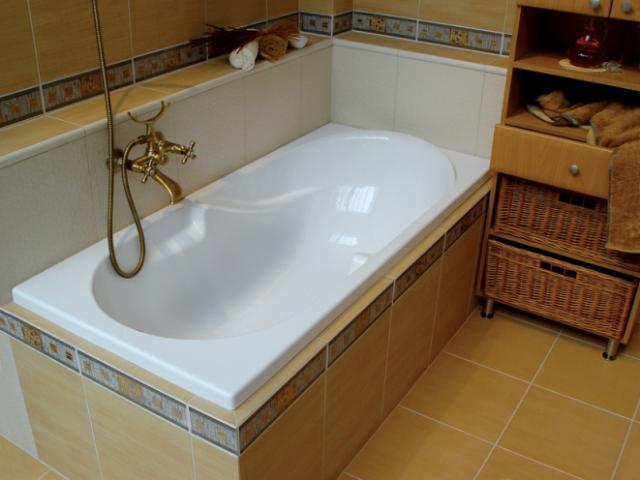 Купить акриловые ванны в Украине