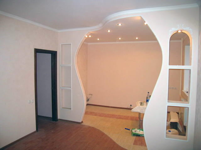 Изготовление арки в дверном проёме