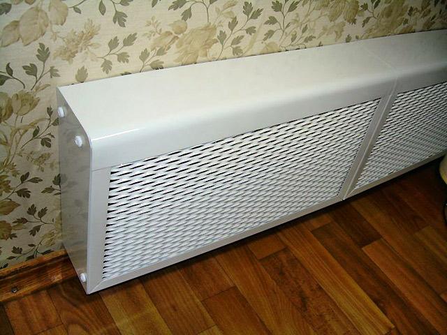 Экраны на радиаторы - красиво и практично