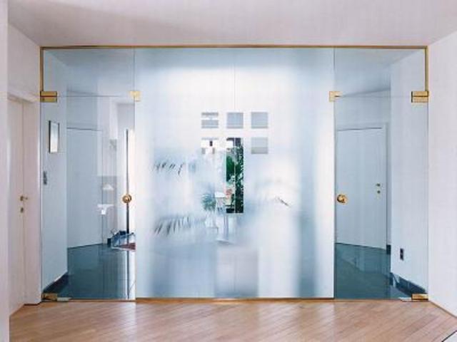Преимущества цельностеклянных дверей