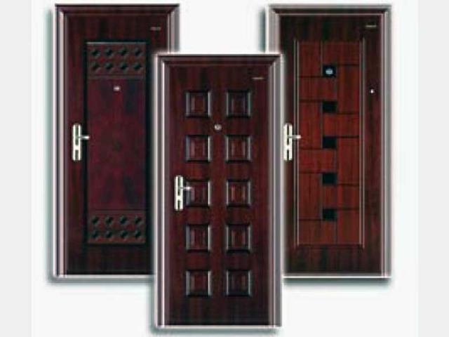 Преимущества входных дверей из стали