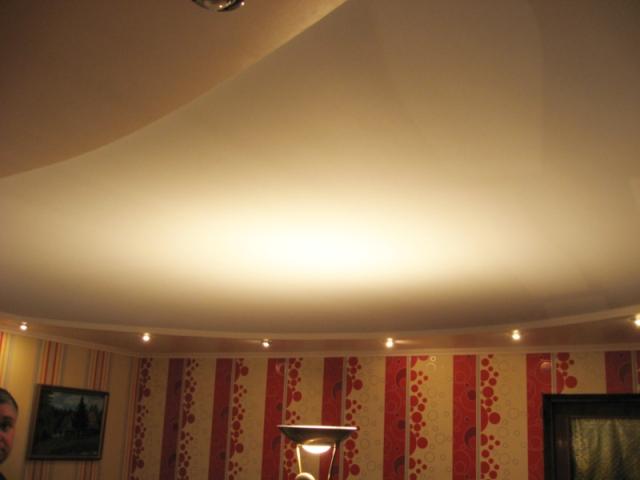 Тканевые потолки Особенности тканевых полотен