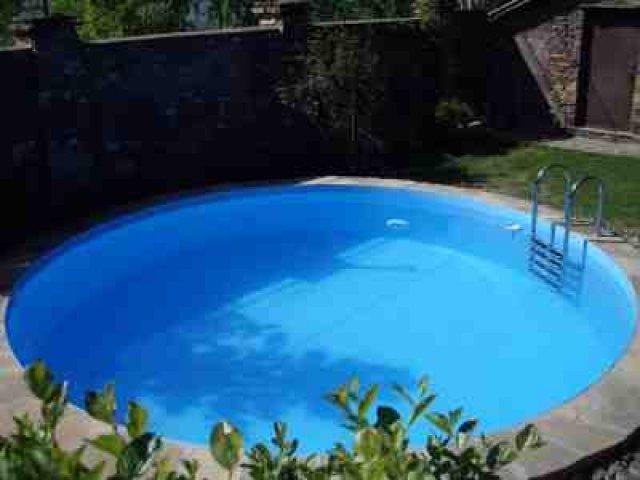 Установка бассейнов из полипропилена