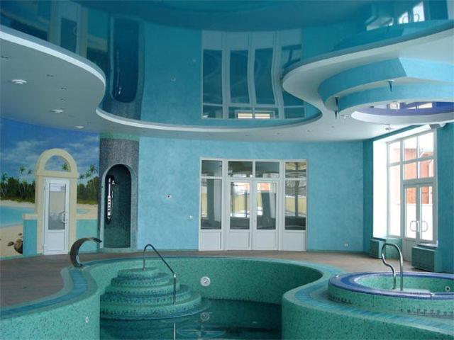 Декоративные возможности пленочных натяжных потолков