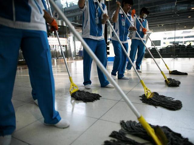 Профессиональная уборка офисных помещений