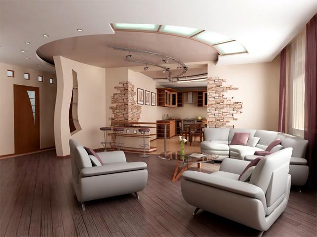 Покупка мягкой мебели, как завершающая стадия ремонта гостиной