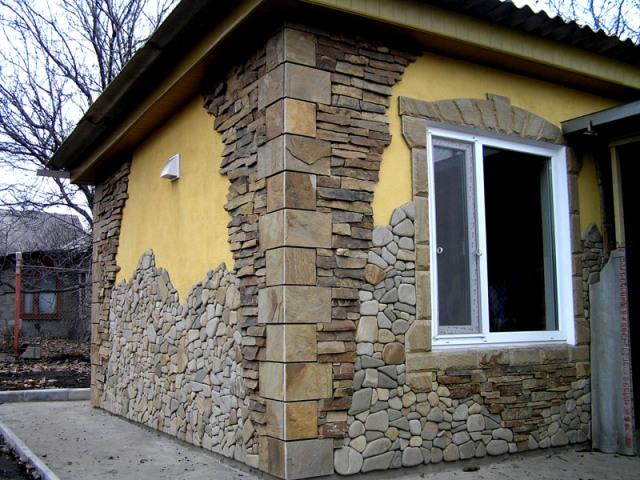 Облицовка фасада: маленькие хитрости