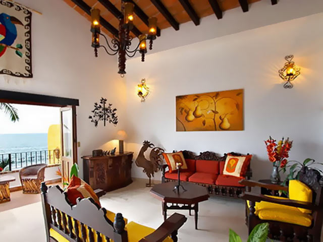 Интерьер квартиры в испанском стиле