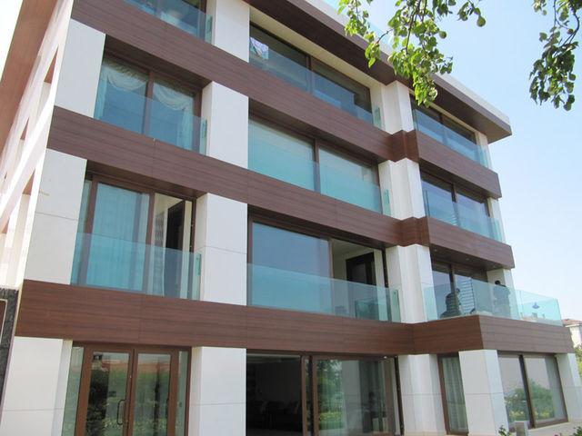 Преимущества навесных фасадов