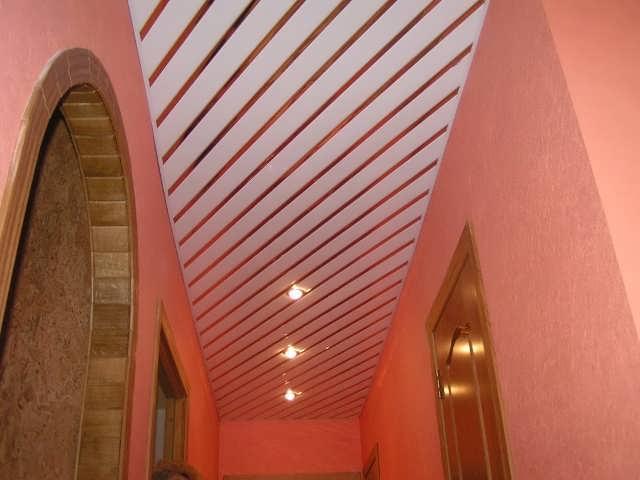 Реечные потолки, их разновидности