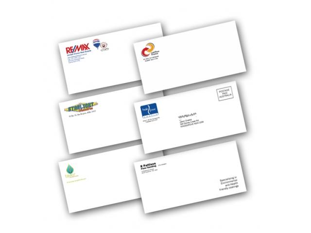 Оформление и печать почтовых конвертов