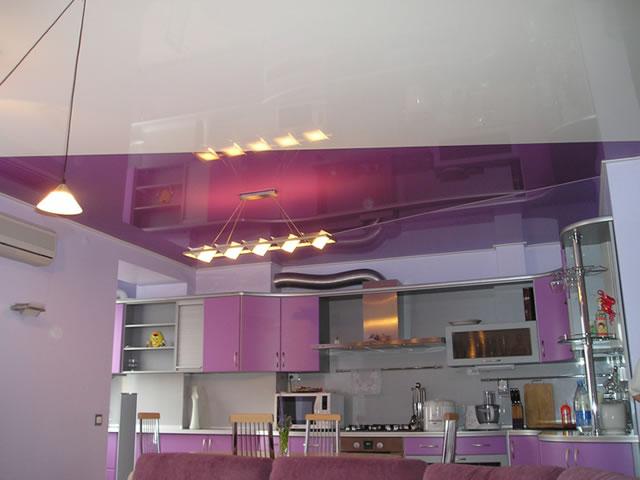 Как выбрать натяжной потолок на кухню?