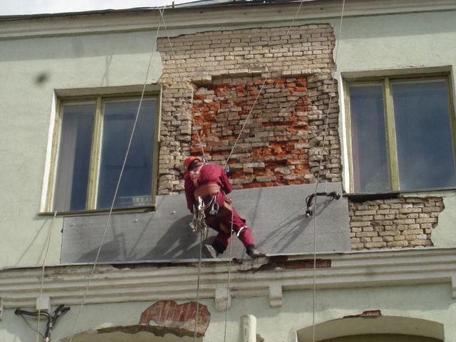 Помощь при ремонте высотных зданий